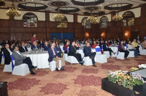 At the launch of Lutyens Maverick
