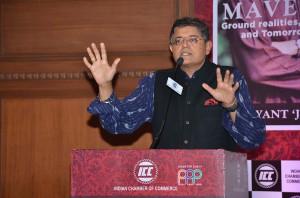 Baijayant JAY Panda talking about his new book