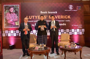 Book launch of Lutyens Maverick Ground realities Hard choices and Tomorrows India by Baijayant JAY Panda organized by the Indian Chamber of Commerce in Kolkata