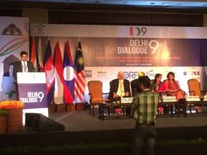At Delhi Dialogue