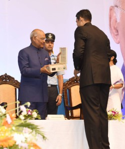 Makaibari Tea being gifted to the Hon'ble President of India, Shri Ram Nath Kovind.